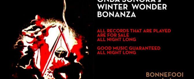 Radio Show 19/12/2017 – Winter Wonder Bonanza / Shake Your Money Maker.